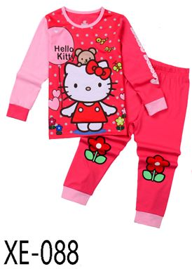XE-088 'Hello Kitty' Pyjama (2 - 7 tahun)