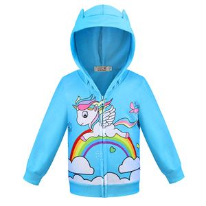 @  LITTLE PONY JACKET -RAINBOW  ( SIZE 100-150 )  ETA EARLY SEPT
