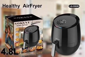 SOKANY AIR FRYER 4.8L LCD SCREEN