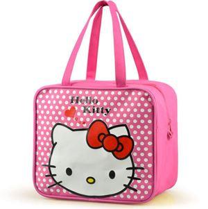 LUNCHBOX  BAG ( KITTY DARK PINK )