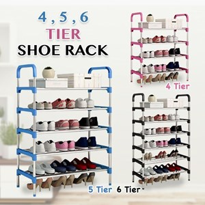 5,6 TIER SHOE RACK ETA 10 AUG 20