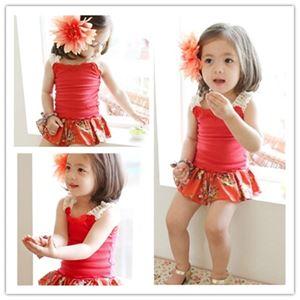 @  K7308  GIRL RED SET