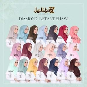 JELITAWAN - DIAMOND INSTANT SHAWL