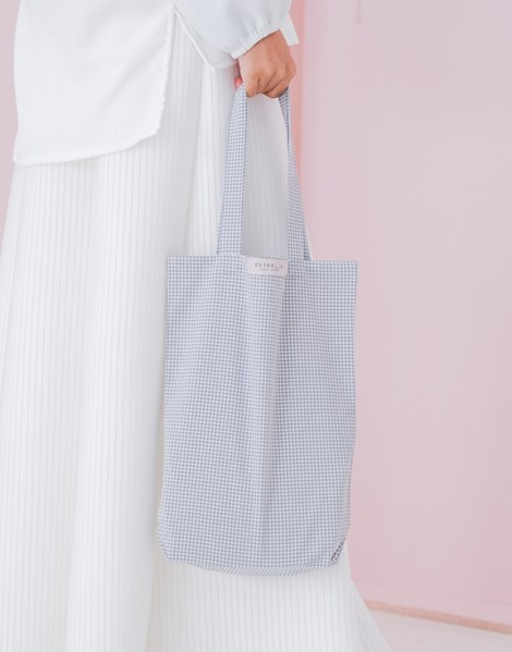 RILEY TOTE BAG IN GREY