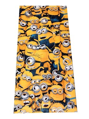 @  CARTOON BATH TOWEL  - MINION   ( Size 140*70cm )
