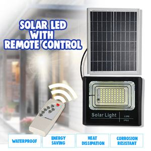 LED SOLAR LIGHT WITH REMOTE CONTROL