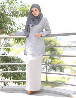 AULIYA LACE - GREY