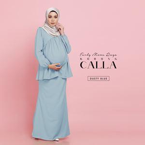 Calla Kurung - Dusty Blue