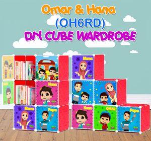 Omar & Hana RED 6C DIY WARDROBE (OH6RD)