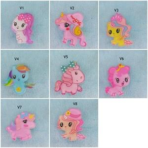 My Little Pony Acrylic Hair Clip (Design 2)