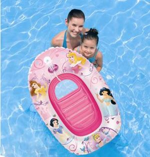 BESTWAY® INFLATABLE DISNEY Princess BOAT. Durable and good quality recommend for toddlers and young children.
