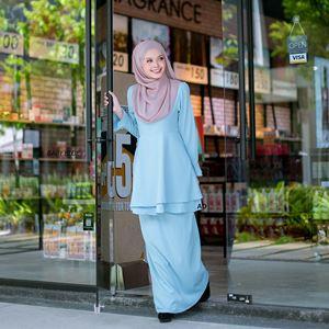 Baju Kurung Zakiah ( Baby Blue)