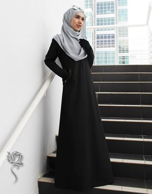 LE HAJA DRESS - BLACK