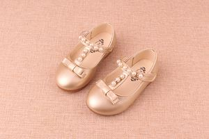 PEARL GOLD COLOUR GIRL SHOES