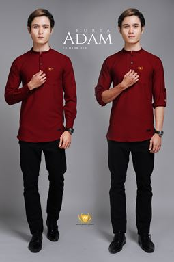 KURTA ADAM (CRIMSON RED)