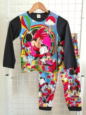 SIZE 2y KIDS Pyjamas  Long Sleeve MINNIE DAISY CLUB HOUSE Dark Blue
