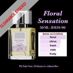 FLORAL SENSATION 50ml EDP PERFUMES CLEARANCE STOCKS