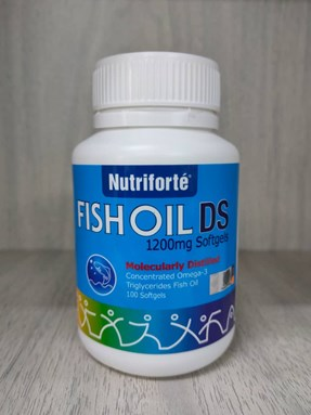 Fish Oil DS 1200mg (100 SOFTGEL)
