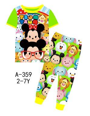 A-359 'Tsum Tsum' Pyjamas (2 - 7 tahun)