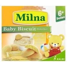 Milna Original Baby Biscuit 6+ Months 130g
