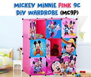 Mickey Minnie PINK 9C DIY WARDROBE (MC9P)