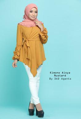 Kimono Wrap Aisya Mustard