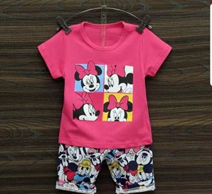 HAPPYKIDS  KIDS SET ( PINK MINNIE ) SIZE 55 - 80