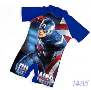1435 Kids  Swimsuit (2 - 7 years old) - Captain America