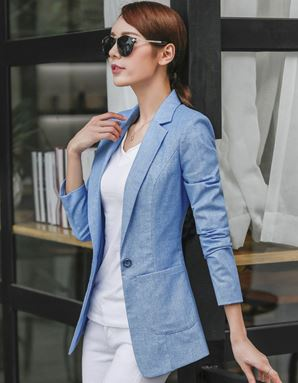 Cotton Slim Coat