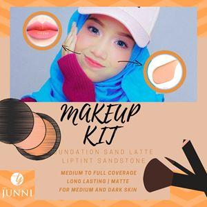 Makeup Kit 2in1 (For Medium & Dark Skin)