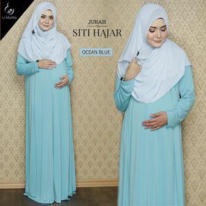 Jubah Siti Hajar : Ocean Blue