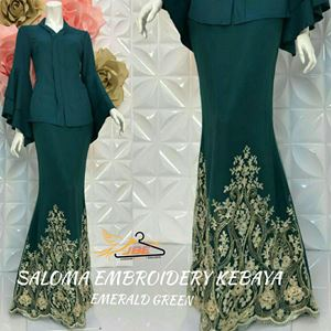 SALOMA EMBROIDERY KEBAYA