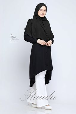 BLOUSE RAUDA - BLACK