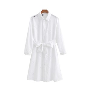EMBROIDERED WHITE TUNIC TOP