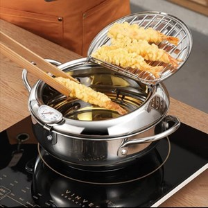 Japan Style Deep Frying Pot 2.2L