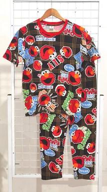 SIZE 2XL  DEWASA Pyjamas ELMO IS AWESOME (GL)