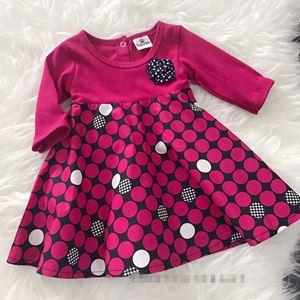 Aisya Dress ( Pink Dots)