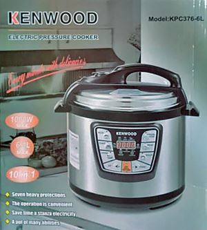 (KW) 6L Electric Pressure Cooker Timer Rice Cooker eta 28/11