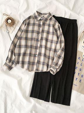 Casual Plaid Shirt