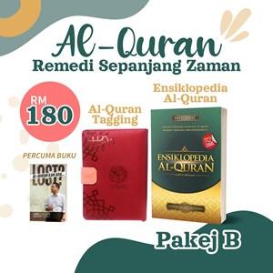 Pakej Al-Quran B - Al-Quran Tagging + Ensiklopedia Al-Quran (Percuma buku)