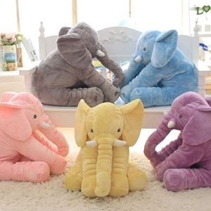 ELEPHANT PLUSH PILLOW ( WITHOUT BLANKET )