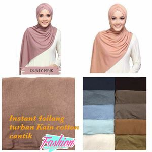 INSTANT TURBAN 4 SILANG COTTON