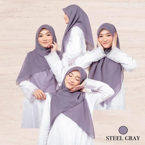 BAWAL AISYA - STEEL GRAY