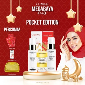 SET POCKET EDITION BONUS POUCH EKSKLUSIF GOLD COLOUR & SAMPUL RAYA POCKET EDITION