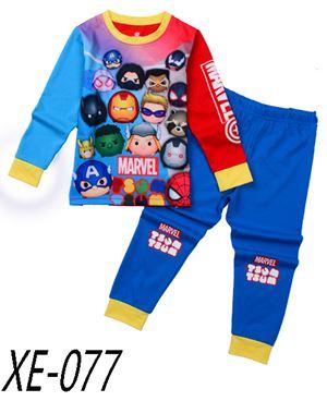 XE-077 'Marvel Tsum Tsum' Pyjama (2 - 7 tahun)
