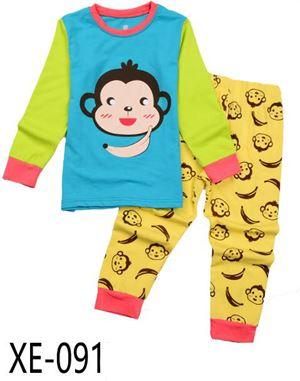 XE-091 'MONKEY' Pyjama (2 - 7 tahun)