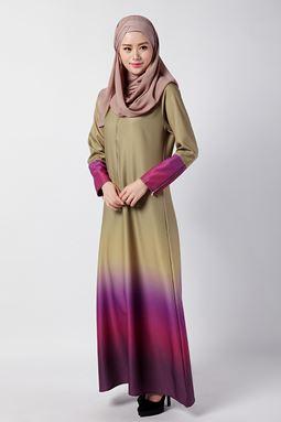 Amber Long Dress (Olive)