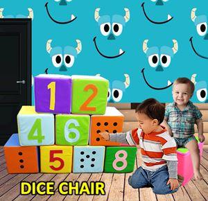 DICE CHAIR (1 SET 9 PCS )N00958