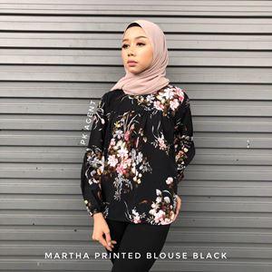 MARTHA PRINTED BLOUSE