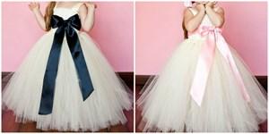 Big Bow Tutu Princess Dress